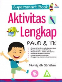 Image of Supersmart Book: Aktivitas Lengkap PAUD & TK