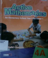 Image of Active Mathematics for Elementary School Year 4 Semester 1 4A
